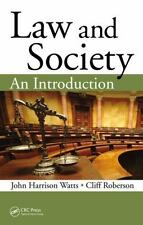 Law and Society: An Introduction by Cliff Roberson [eBook,PDF] (English)
