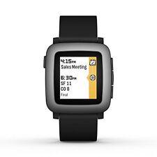 Pebble Time 501-00020 Smartwatch, Black