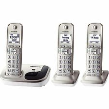 Panasonic DECT 6.0 Cordless Phone with Speakerphone & 3 Handsets