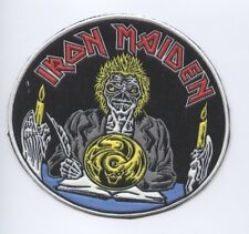 Iron Maiden Round synthetic 3D patch early 80's RARE