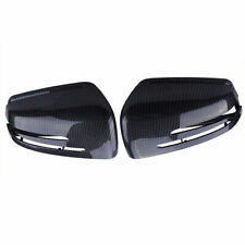 2pcs Carbon Fiber Wing Mirror Cover For Mercedes-Benz W204 X204 W212 W221 C117
