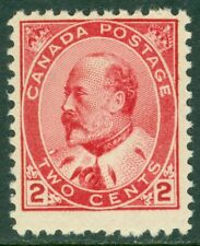 EDW1949SELL : CANADA 1903 Scott #90 Type II. Fine-Very fine, Mint NH. Cat