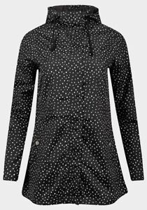 Ladies Lightweight Fully Lined Zip Up Showerproof Jacket with Hood sizes 8 to 22