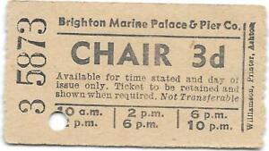 Brighton Marine Palace & Pier Co 3d chair