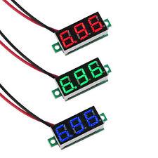 DC 3-30V 0.36 2 Wire LED Digital Panel Volt Meter Voltage Voltmeter Car Motor M+