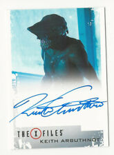 Keith Arbuthnot as Ghouli The X Files Season 10 & 11 Autograph Card Auto