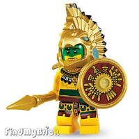 NEW Lego Minifigure 8831 Series 7 -  Aztec Warrior (Brand New not Sealed) NEW