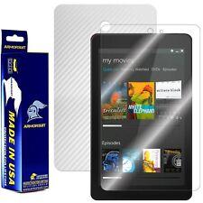 ArmorSuit MilitaryShield Dell Venue 8 Screen Protector + White Carbon Fiber Skin