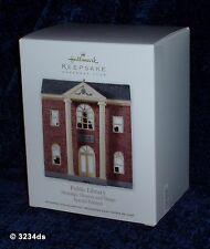 NEW 2012 Hallmark PUBLIC LIBRARY Nostalgic Houses CLUB Exclusive Special Edition