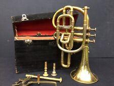 Gautrot Brevete Cornopean Brass Cased Circa 1865 Paris