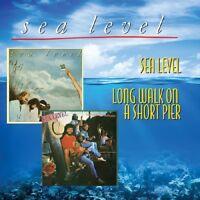 SEA LEVEL - SEA LEVEL/LONG WALK ON A SHORT PIER LIVE 1966  CD NEU