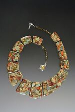Serpentine Fitted Collar Necklace Sale - Bess Heitner Pyrite