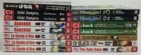 Lot of 15 Mixed Manga Graphic Novel Books 16+ Hack Chibi Godchild La Corda +C474