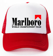 Marlboro World Champion Team Baseball Trucker Cap