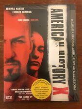 American History X (Dvd, 1999, Special Edition)*Edward Norton