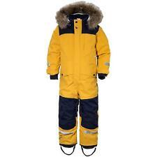 Didriksons Polarbjornen Kids Snowsuit | Oat Yellow | Extra Warm