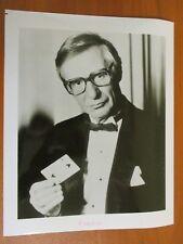 Vintage Glossy Press Photo Magician Mentalist & Author The Amazing Kreskin #1