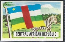 DANDY GUM-FLAG PARADE 1965-#064- CENTRAL AFRICAN REPUBLIC