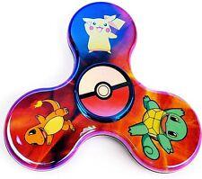 Pokemon Fidget Spinner Pikachu, Squirtle, Charmander, Pokeball  - FREE SHIPPING