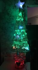 3.8' Disney Pre-Lit Tree Sculpture Mickey -Multi-Function Multicolor LED Lights