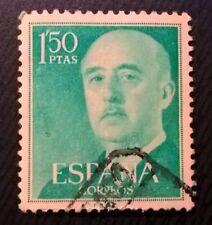 Spain stamps - General Francisco Franco - 1,50 peseta 1956