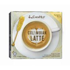 20 Box Chek Hup Microground Colombian Latte Creamy Coffee ( 6 Sachets ) EXPRESS