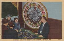 Wheel of Fortune, There's an old spinning wheel in Nevada, 30-40s