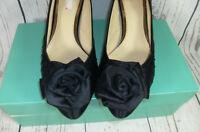 Clarks Ditzy Chick Black  Evening Court Shoes UK 5 EU 38 Boxed