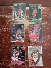 Fleer Ultra Michael Jordan Lot (6) 1992-93, 93-94, 96-97.  Includes inserts