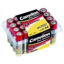 PROMOTION : 72 Piles super alcalines CAMELION AA/LR6 (3 box de 24 piles)