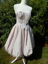 Pale Pink Dress 12 Puffball Style Wedding/Races Bridesmaid Prom