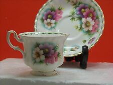 "Royal Albert Flower of the Month Series, October ""Cosmos"" Fine Bone China"