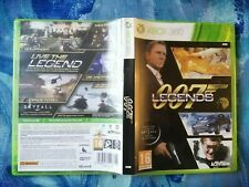 007 Legends for Microsoft Xbox 360 VERY GOOD CONDITION WITH MANUAL PAL