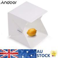 Photo Studio 48cm LED Lighting Tent Softbox Kit Portable Folding Light Box Cube
