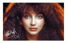 KATE BUSH AUTOGRAPHED SIGNED A4 PP POSTER PHOTO