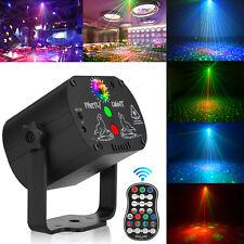 New ListingMini Laser Stage Lighting 60 Patterns Led Rgb Projector Dj Disco Ktv Party Light