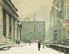 La PITTURA Simon New York Public Library ART PRINT PICTURE POSTER hp2889