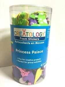 Creatology Foam Stickers  Princess Palace 4.5 oz Assorted shapes & Colors