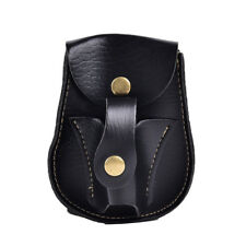 1x leather case waist bag pouch for catapult slingshot steel balls ammo game Fad