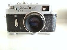 Zorki-4 vintage soviet Leica copy camera with lens Industar