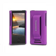 iPod Nano 7 case- Tranesca Ultra Purple with tempered glass screen protector