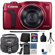 Canon PowerShot SX710 HS 20.3 MP Digital Camera Accessory Kit & Extra Battery