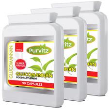 Glucomannano Konjac Fibra 270 Pillole 500mg Soppressore Appetito Feel Full Dieta