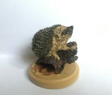 More details for the country wildlife collection the hedgehog 2005 figurine ornament