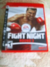 Fight Night Round 3 (Sony PlayStation 3, 2006) COMPLETE: Case/Disc/Instructions