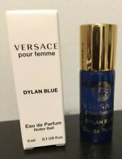 Versace 'Dylan Blue' For Women Pour Femme Perfume 3ml Rollerball NEW