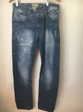 Crafted Distressed W30 L30 Cotton Jeans <T12761