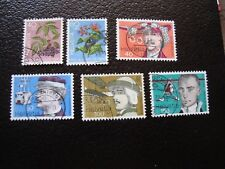 SUISSE - timbre yvert et tellier n° 1015 a 1020 obl (A2) stamp switzerland