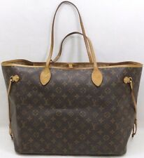 Louis Vuitton Brown Monogram Canvas Neverfull GM Tote Bag SP4017
