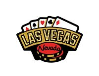 Las Vegas Travel STICKER - Cards and Gambling Chips